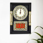 dhokra-warli-wall-clock-handicraft-wallclock-warliart